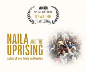 'Naila and the Uprising', film de Julia Bacha @ Le Space