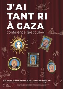 """J'ai tant ri à Gaza"" conférence gesticulée @ VIROINVAL -"
