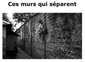 «Ces murs qui séparent» projection-conférence de Gaël Turine @ Watermail-Boitsfort - La Vénerie - Espace Delvaux -