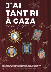 """""""J'ai tant ri à Gaza"""" conférence gesticulée @ Mouscron - MJ La Ruche"""