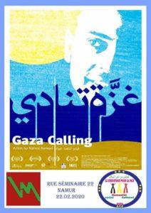 """Gaza calling"" de Nahed Awwad @ Namur - Quai 22"