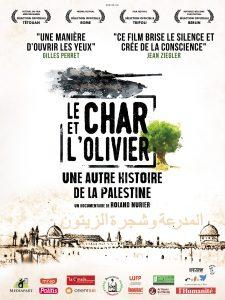 """""""Le char et l'olivier, une autre histoire de la Palestine"""" @ plateforme www.sooner.be"""