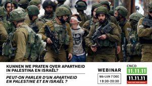 Webinaire : Peut-on parler d'un apartheid en Palestine et en Israël ? @ En ligne