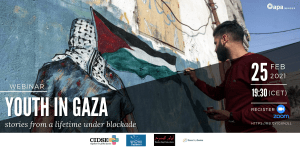 Webinar: Youth of Gaza, stories from a lifetime under blockade