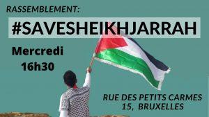 Répression des Palestiniens de Jérusalem-Est : la Belgique doit agir!